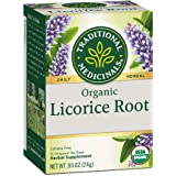 Traditional Medicinals Organic Herbal Tea, Licorice Root, 16-Count (Pack of 3)