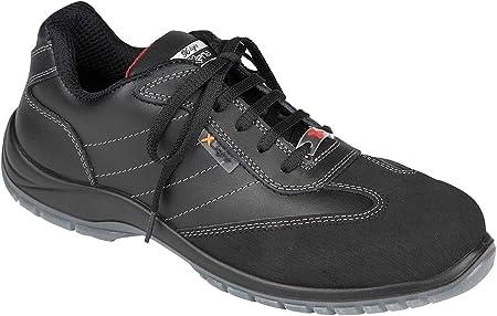 Zapato Unisex Seguridad de la Marca DIAN, Microfibra Negro, con Cordones, Lavable, parides3-91
