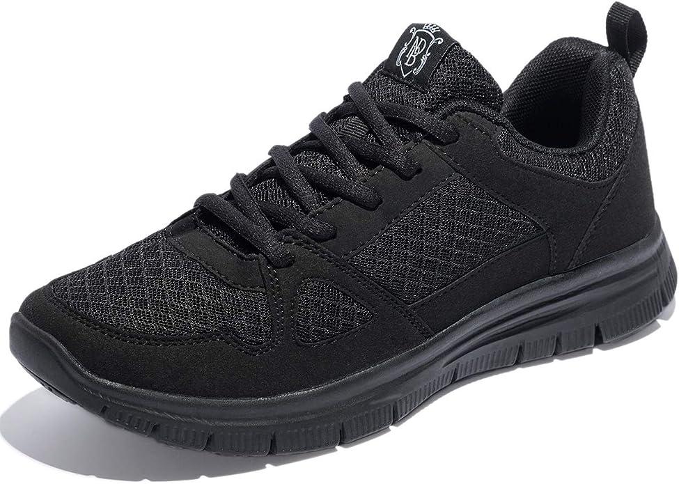NewDenBer NDB Zapatillas deportivas ligeras para hombre, color Negro, talla 50 EU: Amazon.es: Zapatos y complementos