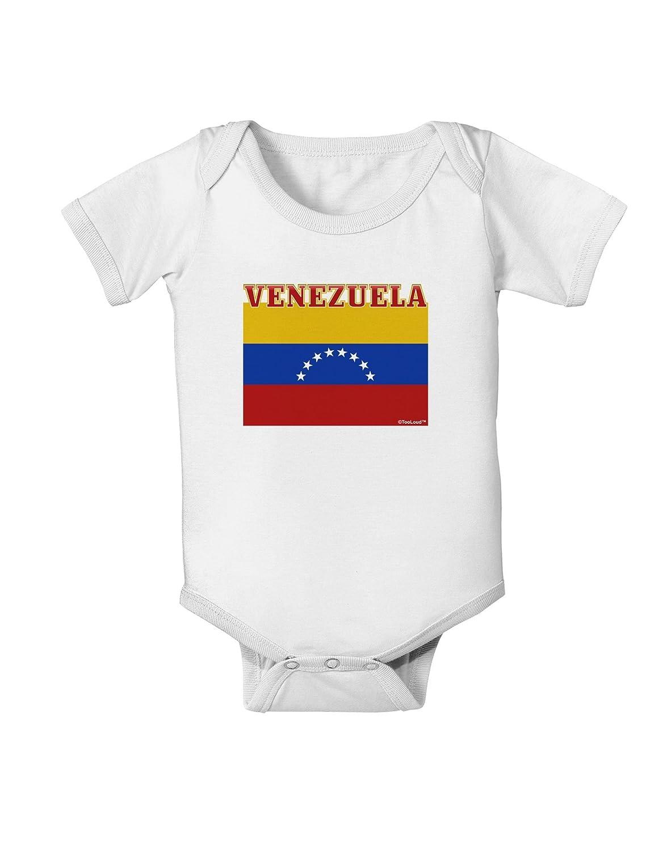 TooLoud Venezuela Flag Baby Romper Bodysuit