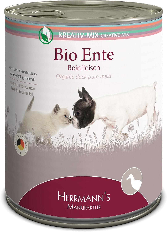 Herrmanns Bio Ente 100% - Ente 100% (6 x 800 g)