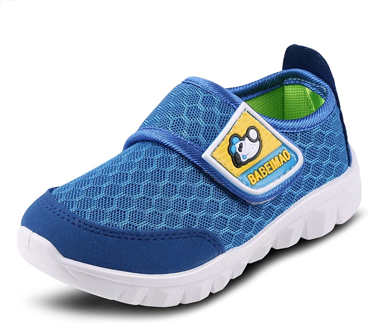 Boys Girls Lightweight Walking Shoes Comfortable Casual Shoes Slip on Sneakers