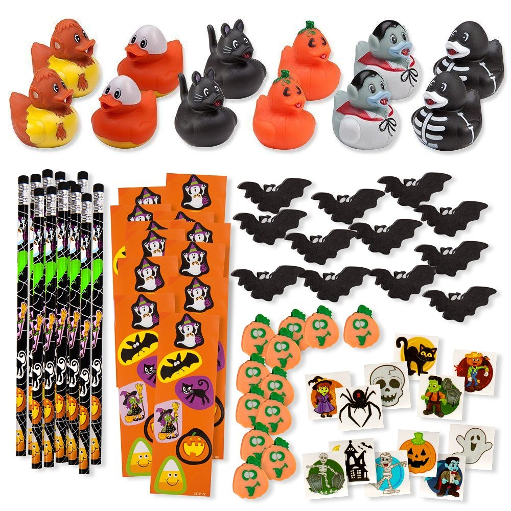 156 Piece Mega Halloween Toy Novelty Assortment