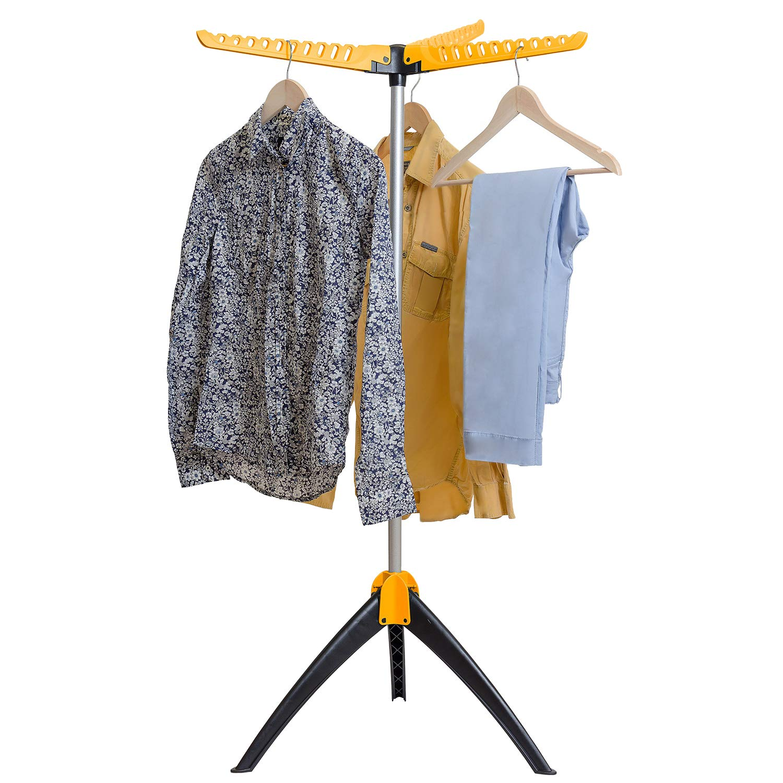 Art Moon Elm Portable Clothes Drying Rack Foldable Tripod