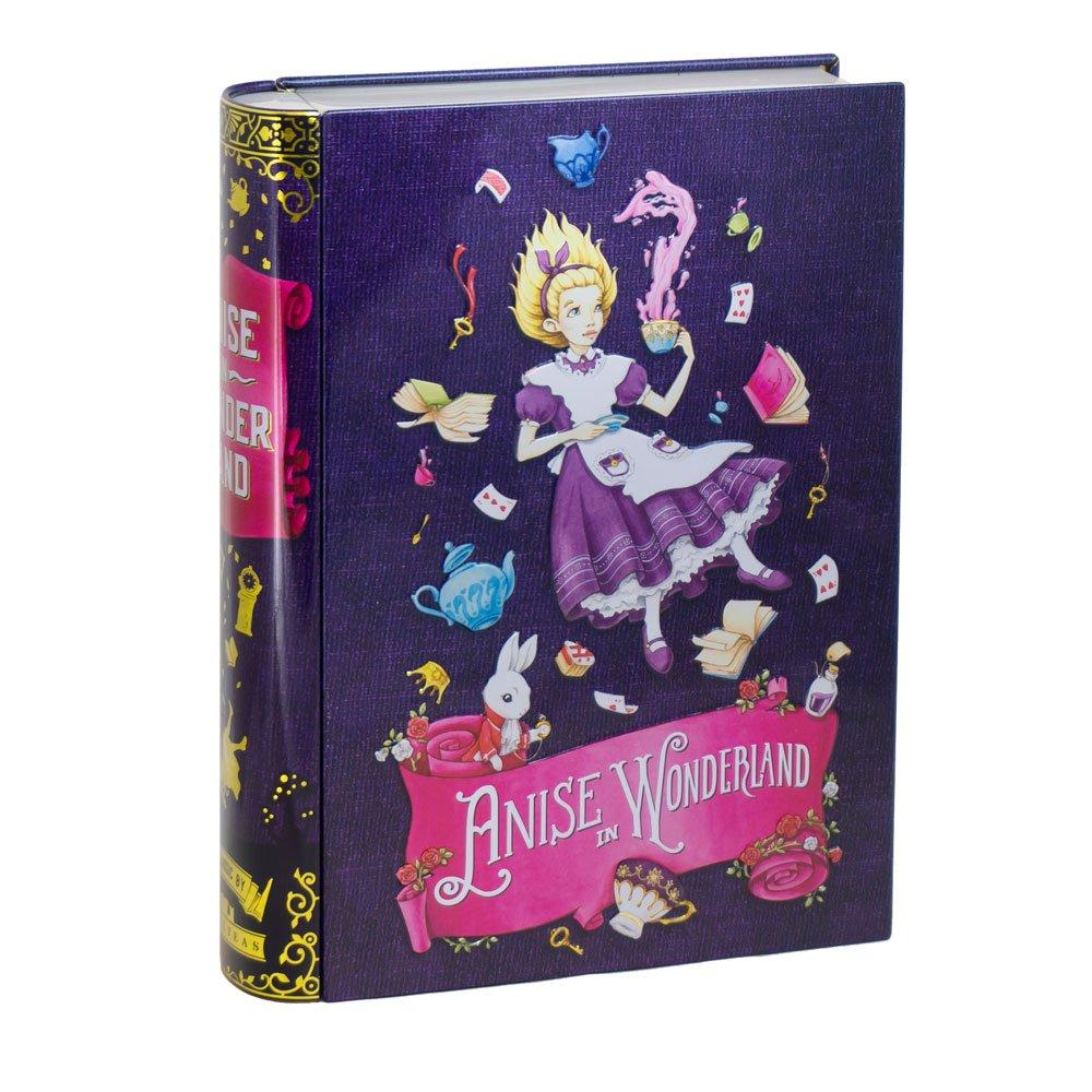 NovelTea Tins | Anise In Wonderland | Tea Box Tin With Anise Tea Inside