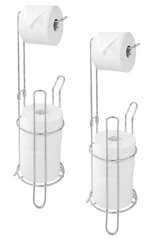 Amazon.com: Paradis Basic - Soporte para papel higiénico (2 ...
