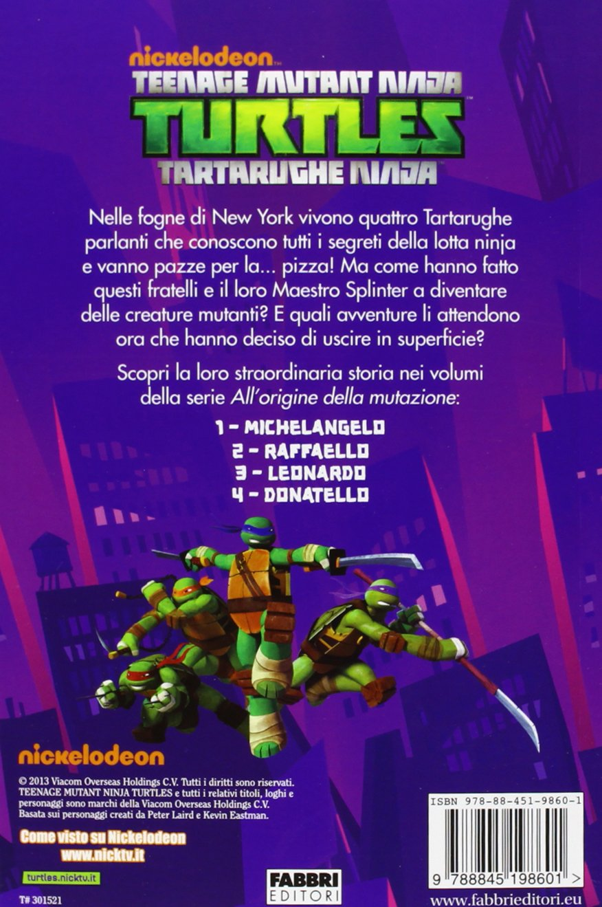 Raffaello. Turtles Tartarughe Ninja: 9788845198601: Amazon ...