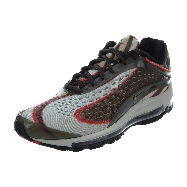 MultiCouleure (Sequoia Camper vert Team Orange noir 300) Nike Air Max Deluxe, Chaussures de Running Compétition Homme 45.5 EU
