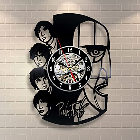 Amazoncom Pink Floyd Art Vinyl Record Clock Wall Decor Home