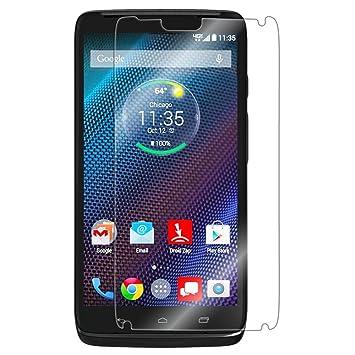 [2 unidades] Motorola Droid Turbo Protector de pantalla, Motorola Droid Turbo Protector de