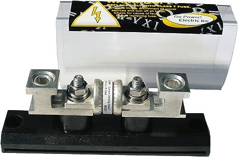 [XOTG_4463]  Amazon.com: Go Power! FBL-400 Class T 400 Amp Fuse with Block: Automotive | Fastener For Rv Fuse Box |  | Amazon.com