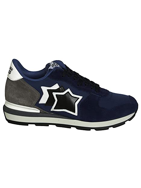 722b4cad93 Atlantic Stars Sneakers Uomo ANTARESNN81B Camoscio Blu: Amazon.it ...