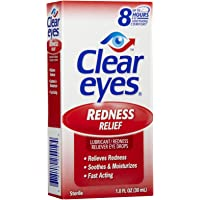 Clear Eyes Redness Relief Eye Drops-1 Oz