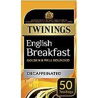 Twinings Té English Breakfast Descafeinado - 50 bolsitas