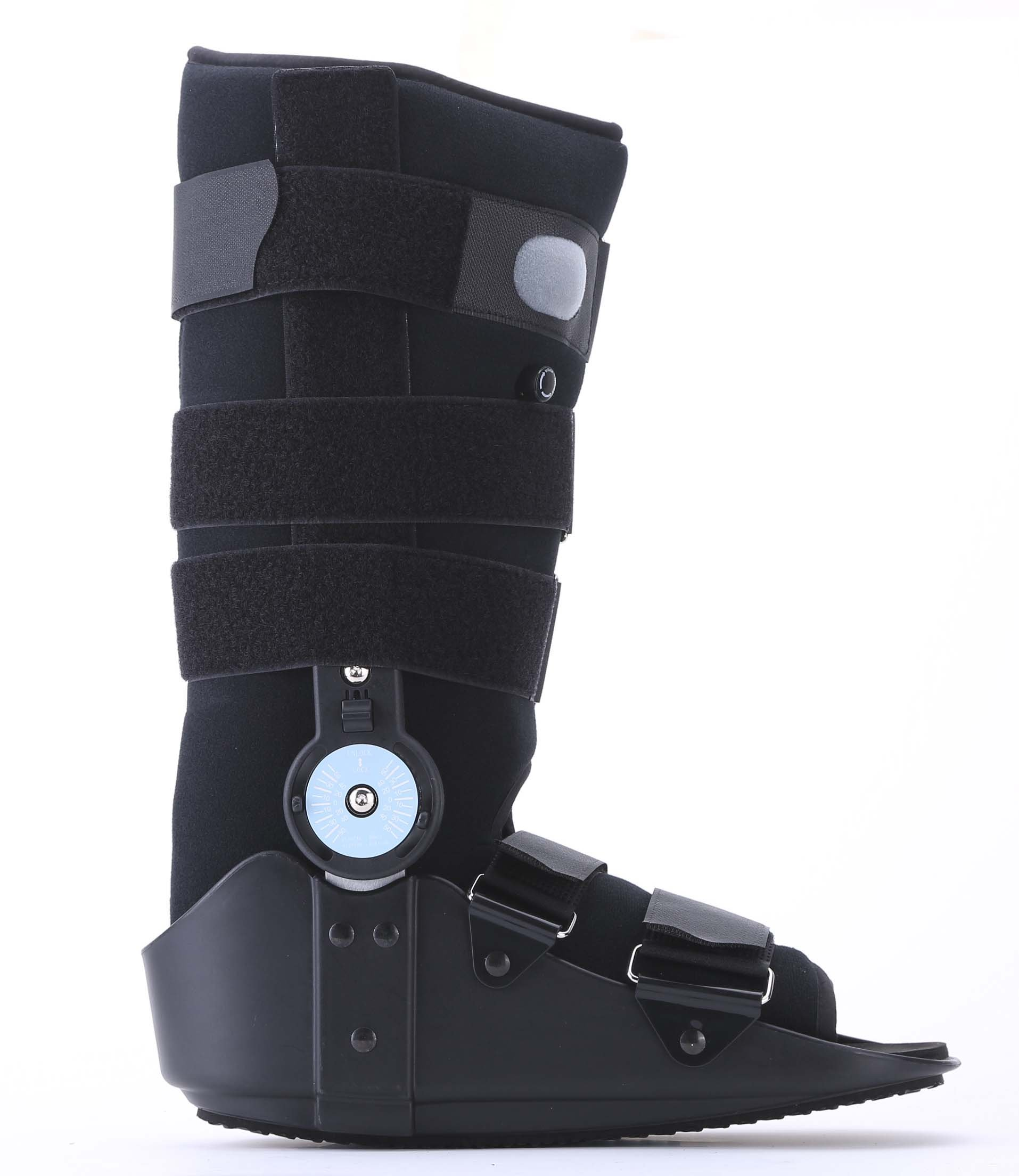 Medibot Adjustable ROM Air Cam Walking Boot for Broken Fracture Ankle Sprain Relief Size M
