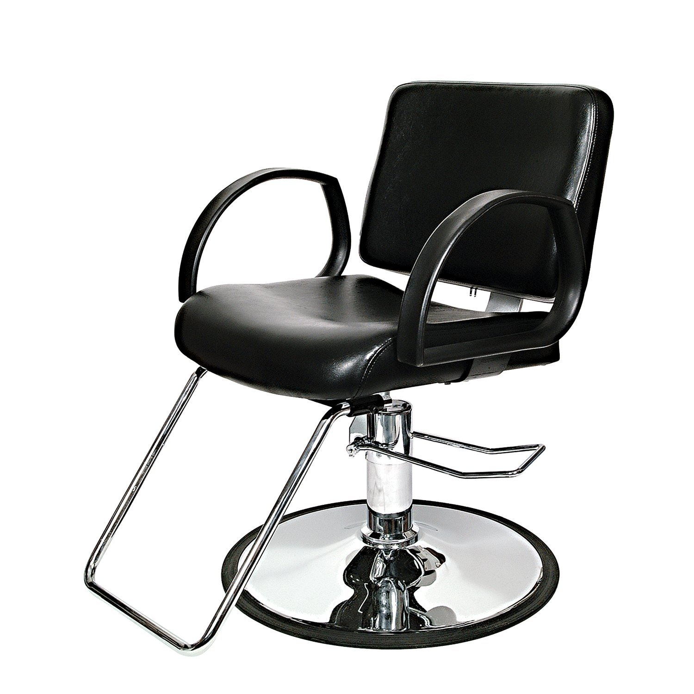 PureSana Niki Styling Chair With Chrome Base