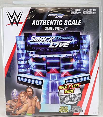 WWE Live Crowd Pop Up Wrestling Action Figure Accessories