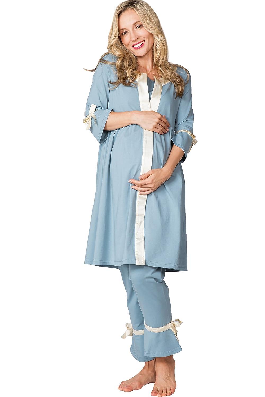 Sweet Mommy SLEEPWEAR レディース Large ブルー B074J6FJ2M