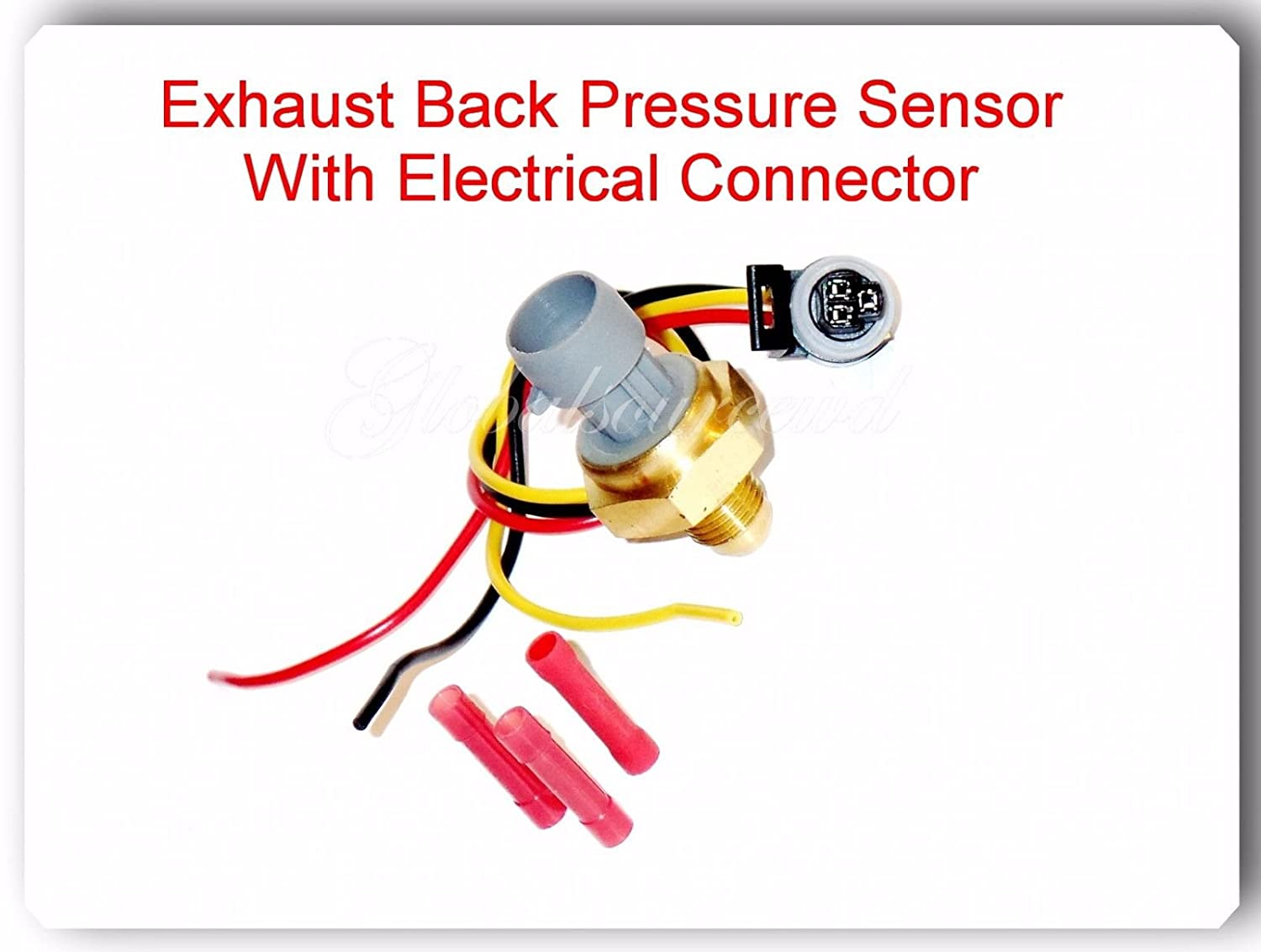 7e7z9j460aa Egr Pressure Feedback Dpfe Sensor With 2004 Ford F 250 Icp Connector Pigtail Fits V8 64l Super Duty 2008 2010 350
