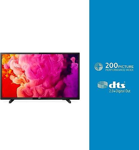 Televisor Philips 32phs4503/12 (80 cm) Televisor LED Full HD ultrafino (Pixel Plus HD, 2 entradas HDMI con EasyLink, USB, portátil), Color negro: Amazon.es: Electrónica