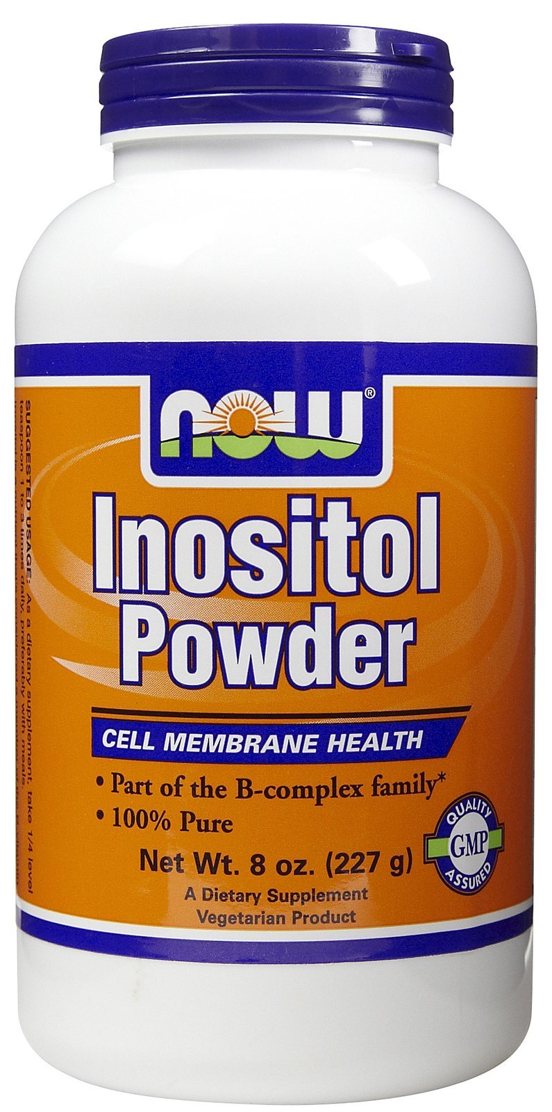 Now Foods Inositol Pure Powder, 8-Ounce ( Multi-Pack)