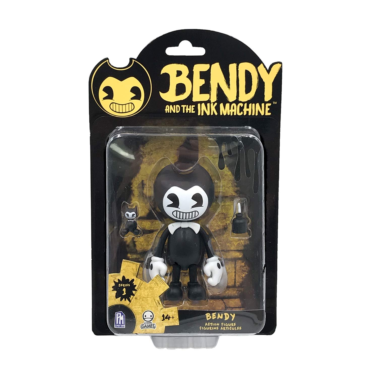 Bendy and The Ink Machine Series 1 5' Action Figure - Bendy (Dispatched from UK) BTIM6601