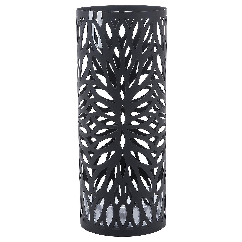 SONGMICS Paragüero Soporte de Paragüas umbrella stand perchero (49 x Ø19.5 cm) Negro LUC20B