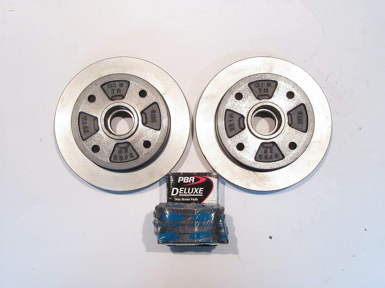 Amazon.com: Brake Rotor & Pad Kit Fits Mazda 323 GT Turbo ...