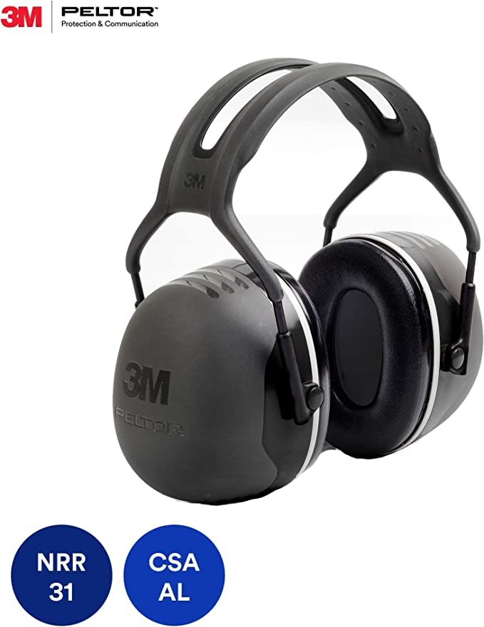 Best Shooting Ear Protection: 3M Peltor X-Series Over-the-Head Earmuffs