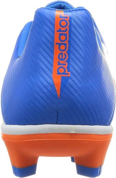 adidas Predator Absolado LZ TRX HG, Bota de fútbol, Azul-Naranja