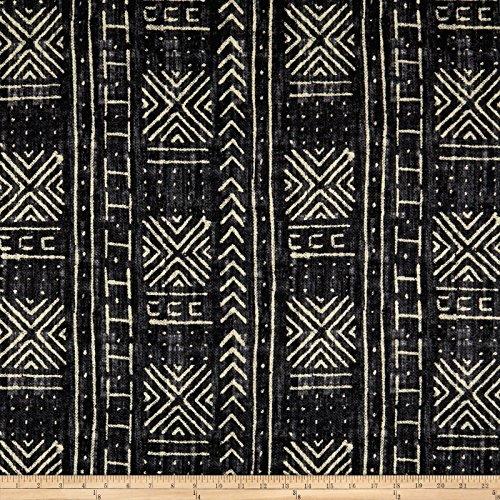 WAVERLY Genevieve Gorder Mali Mud Cloth Linen (Genevieve Duvet Cover)