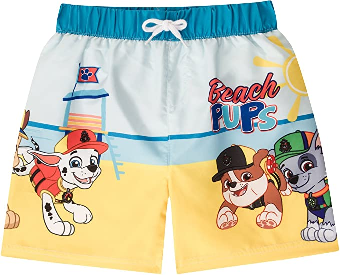 PAW PATROL Swim Shorts Swimming Trunks Boys Brand New Licensed