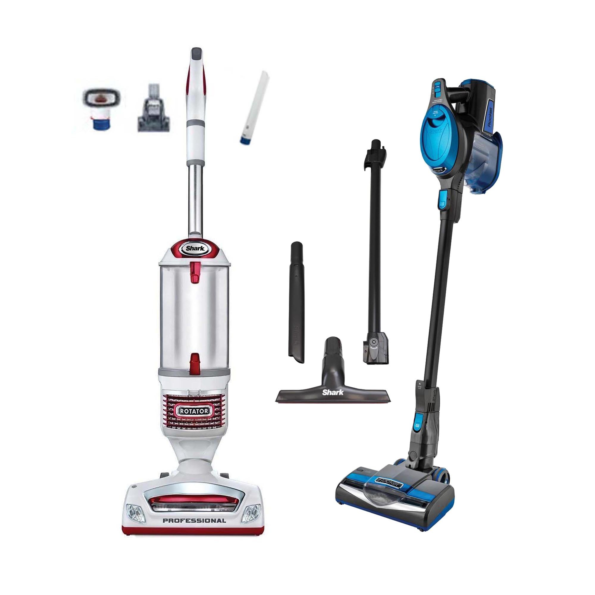 Shark Rotator Pro Lift-Away Vacuum + Rocket Light Vac (Certified Refurbished)
