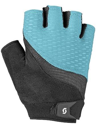 cd47dd36f90698 Scott Essential Damen Fahrrad Handschuhe kurz blau/schwarz 2016: Größe: XS  (6