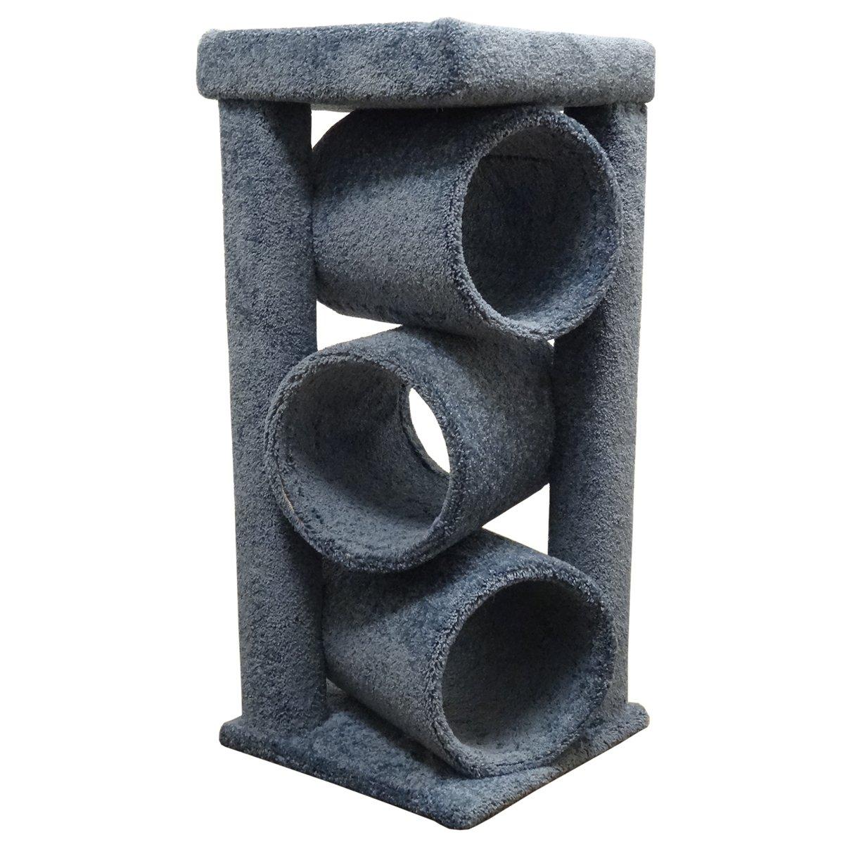 amazon com unique cat furniture tower carpet tubes blue carpet