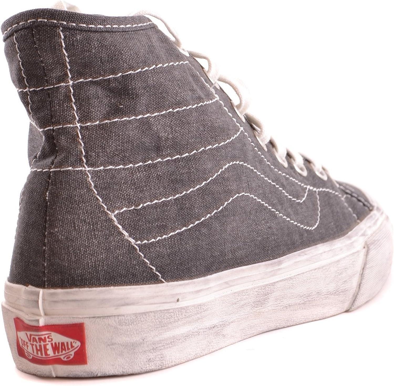 Vans Damen MCBI306092O Grau Stoff Hi Top Sneakers: