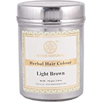 Khadi Natural Ayurvedic Light Brown Henna, 150g