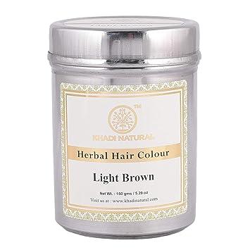 Buy Khadi Natural Herbal Light Brown Henna 150g Online At Low