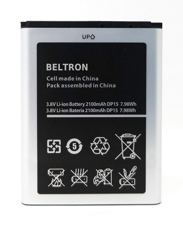 New BELTRON 2100 mAh Replacement Battery for Verizon Ellipsis Jetpack MHS900L 4G LTE Mobile Hotspot by BELTRON