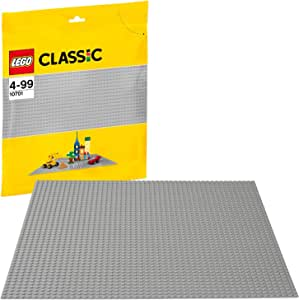 (European Version) LEGO Classic Base Extra Large Building Plate 15 x 15 Inch Platform, Gray   10701