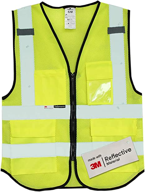 Small Product Image of  Salzmann 3M Multi Pocket Safety Vest
