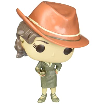 Funko POP Marvel: Sepia Tone Agent Carter Action Figure ( Exclusive): Toys & Games