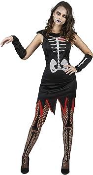 Generique - Disfraz de Esqueleto corazón Mujer M: Amazon.es ...