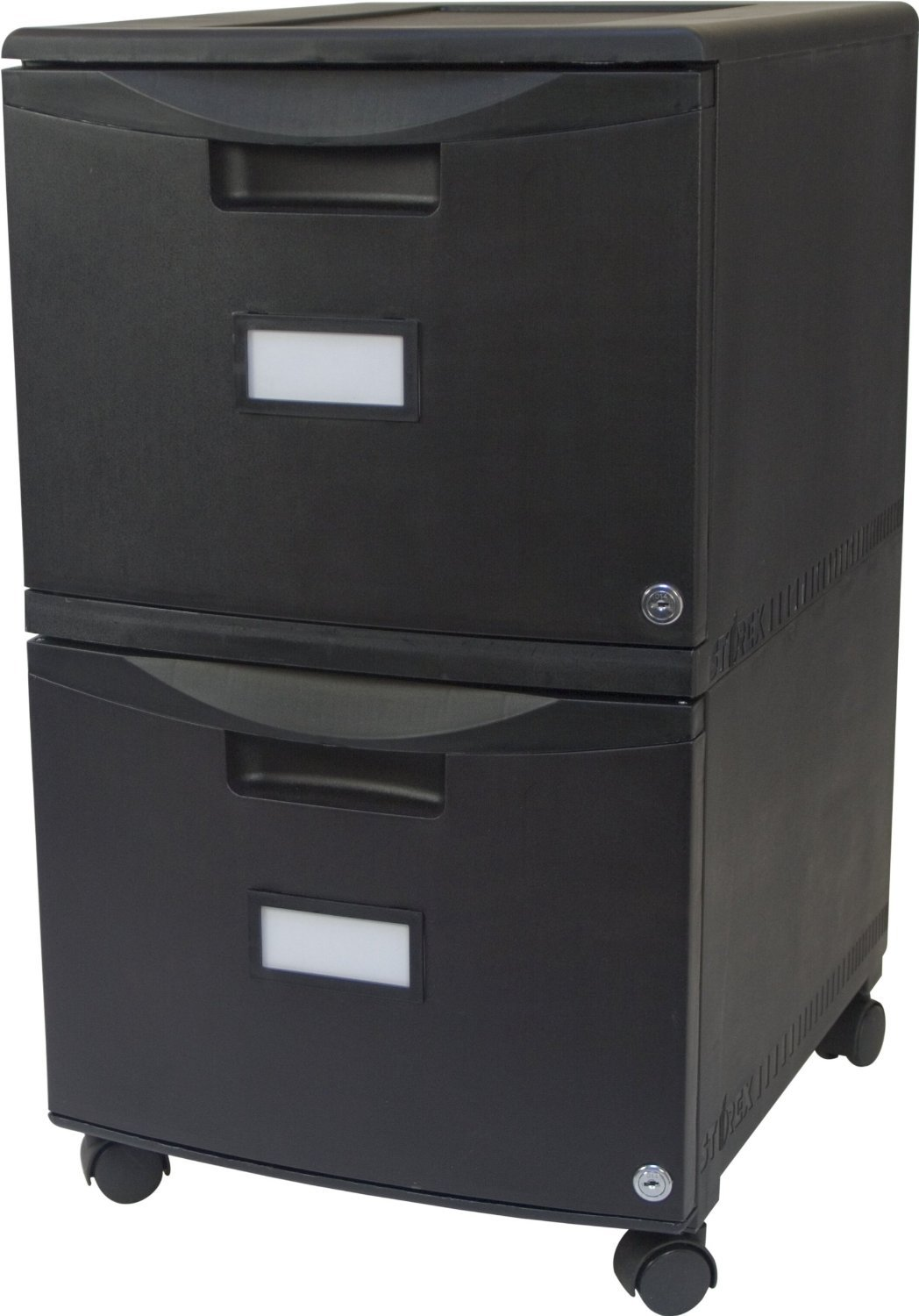 Amazon Storex 2 Drawer Mobile File Cabinet With Lock 1825 X