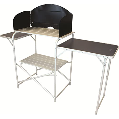 Highlander Aluminium Camping Kitchen Stand & Folding Tables