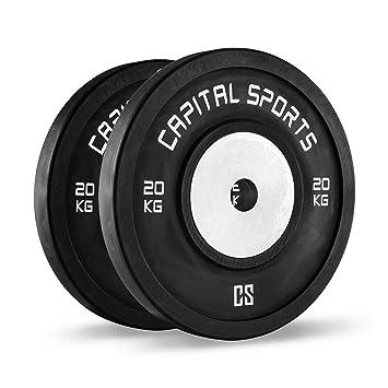 CAPITAL SPORTS Inval Discos de pesas Hi grade Competition 50 mm (Placas de peso de