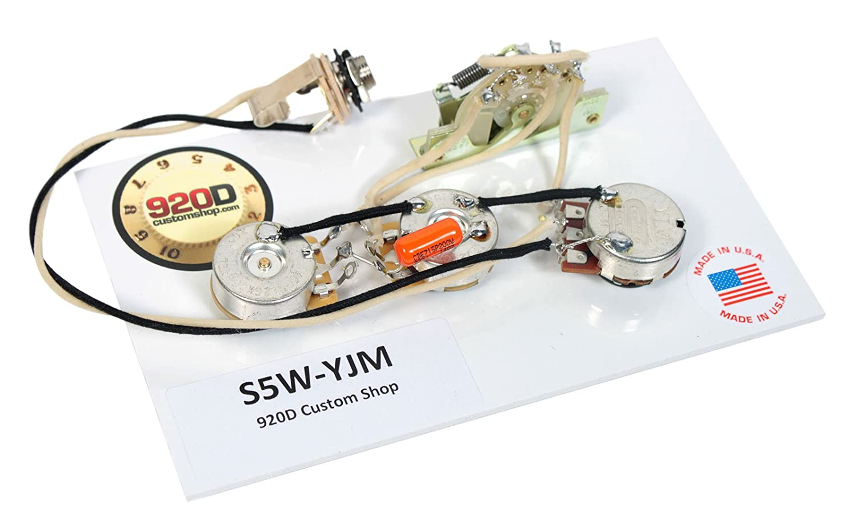 Duncan Yjm Fury Stk S10 Stacked Humbucker Pickup Set Sh 4 Bass Pickups Wiring Diagram White Harness Musical Instruments