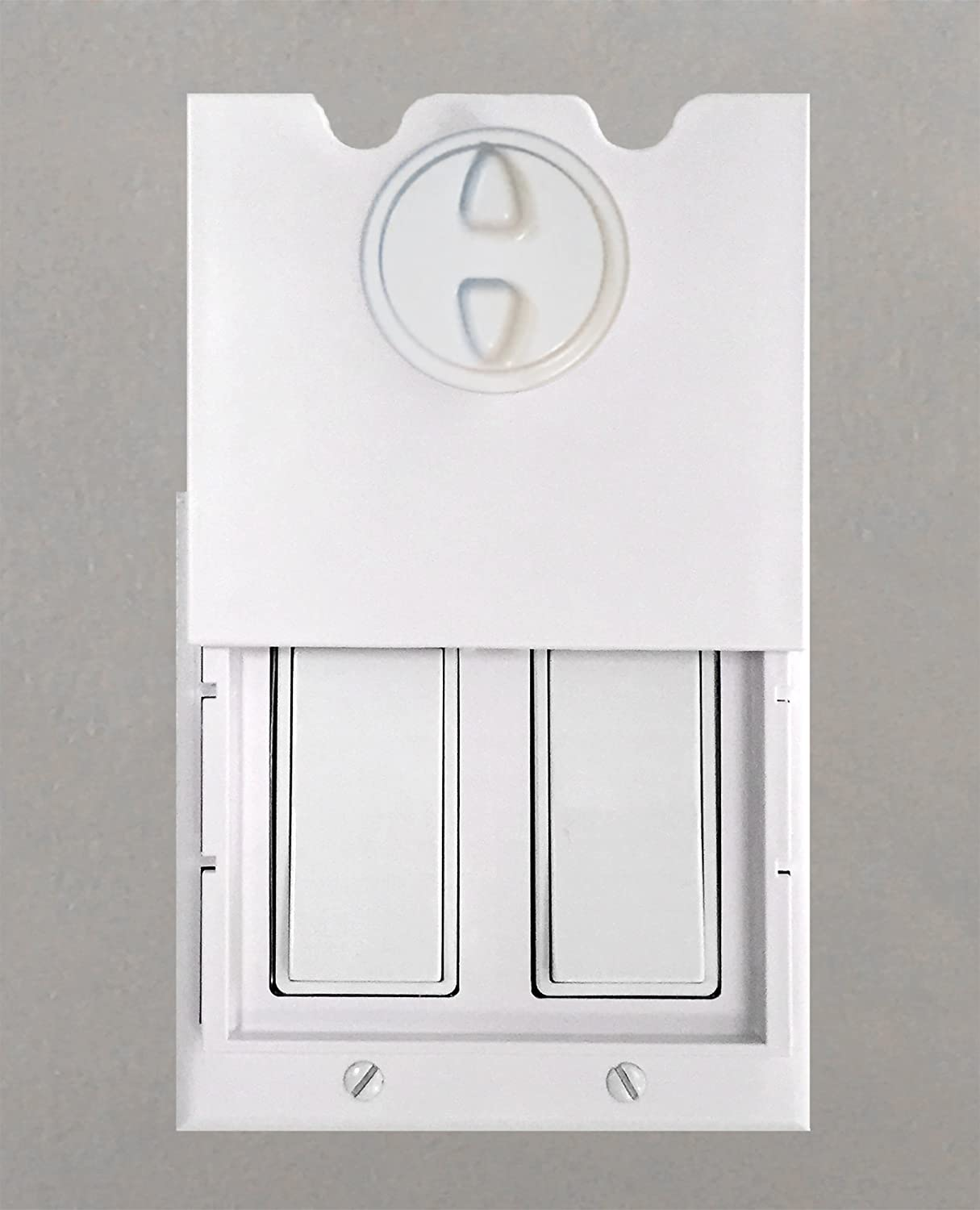 Rocker Light Switch >> Homestar Safety Light Switch Guard And Cover For Double Rocker Switches