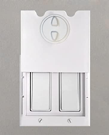Fantastic Amazon.com : HomeStar Safety Light Switch Guard and Cover (for  EW39