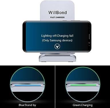 Willbond S9, S9 Plus Schnell Kabellose Ladegerät, 2 Spulen